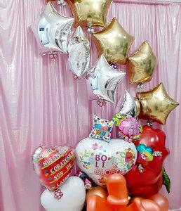 Balloons Bouquet Princess