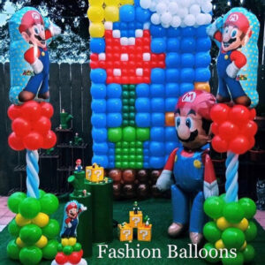 Custom Decoration Party Mario