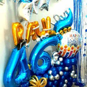 Balloons Bouquet Maxi Birthday