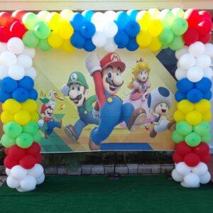 Balloons Arch Super Mario