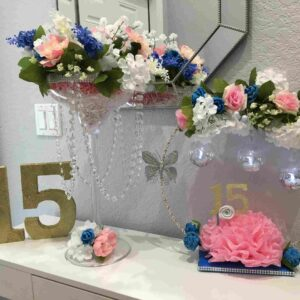Decoration Centerpiece Sweet Fifteen