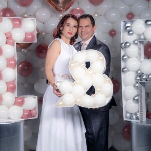 Custom Letters Decoration Perfect Couple