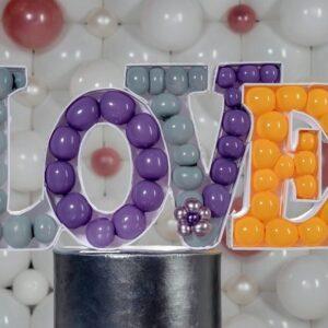 Custom Letters Decoration Love