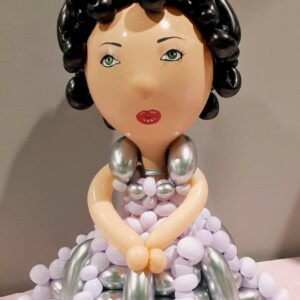 Balloons Twisting Princess Doll