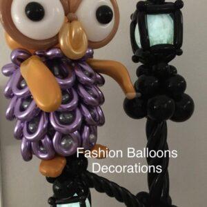 Balloons Column with Sculptures