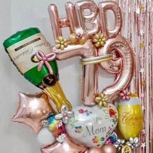 Balloons Bouquet HBD